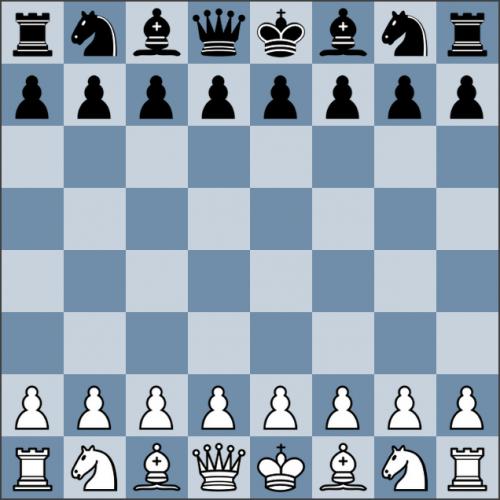 Король в шахматах любит свой цвет