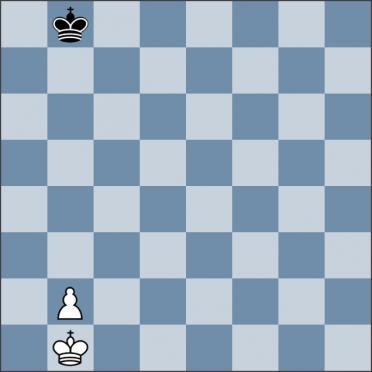 Урок №140. Король против фланговой пешки