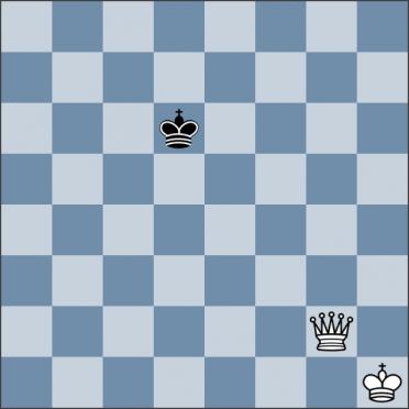 Урок №142. Король против ферзя (мат ферзём)
