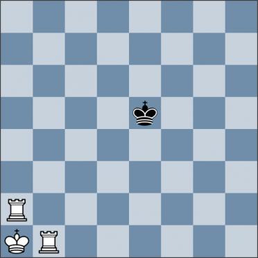 Урок №143. Король против двух ладей (линейный мат)