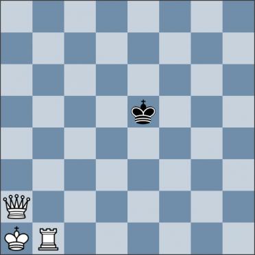 Урок №144. Король против ферзя и ладьи (линейный мат)