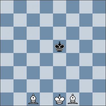 Урок №146. Король против двух слонов (мат в углу доски)