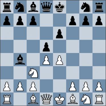 Урок №33. Французская защита. Вариант Винавера